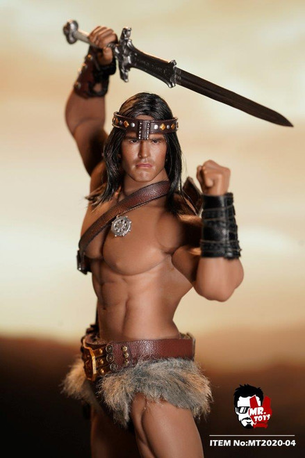 [MT-2020-04] Mr Toys Barbarian 1:12 Scale Figure Accessory for TBLeague 1/12 TM02A body