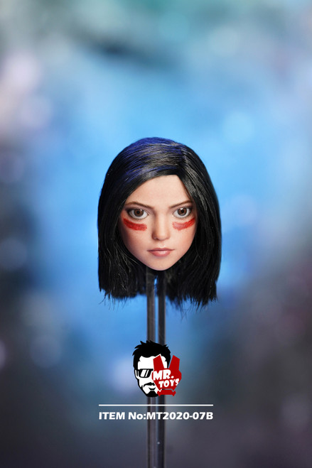 [MT-2020-07B] 1:6 Angel Head Sculpt with Face Paint by Mr Toys