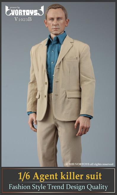 [VOR-1023B] Vor Toys 1/6 Male Agent Suit Yellow