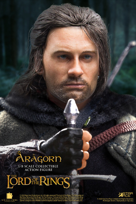 [SA-8008C] Star Ace 1:8 The Lord of The Rings Aragorn Rooted Hair Figure