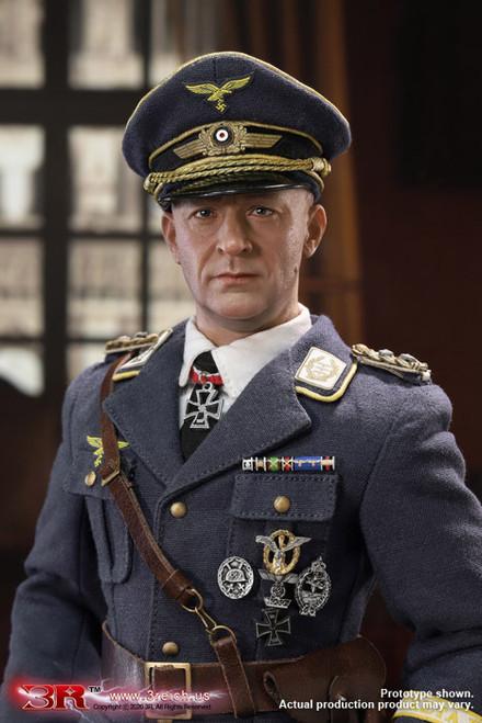 [GM644] 1/6 WWII General Der Fallschirmtruppe Kurt Arthur Benno Student 3R DiD