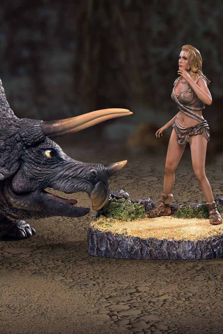Star Ace One Million Years B.C. Triceratops & Loana Soft Vinyl Limited Edition 600pcs [SA-9012]