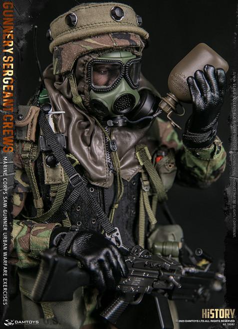DAM Toys 1/6  Marine Corps SAW GUNNER Urban Warfare Exercises Figure [DAM78082]
