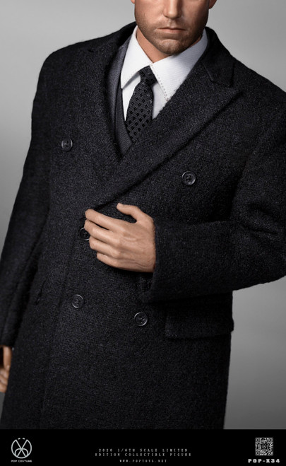 1:6 POP Couture Version Rich Gentleman Ben Overcoat Suit [POP-X34]