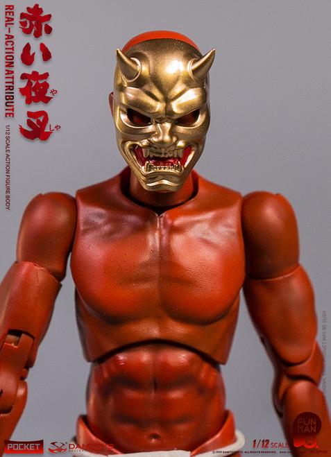 Dam Toys 1/12 Red Yashaman Action Figure [DAM-DPS07]