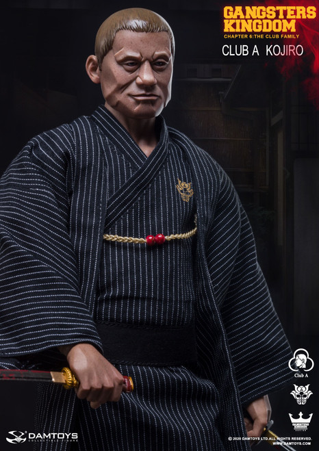 DAM TOYS 1:6 Gangsters Kingdom Club A Kojiro [DAM-GK021]