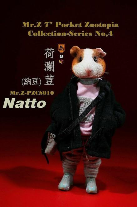 "Mr.Z Pocket Zootopia 7"" Natto Figure Series 4 [MRZ-PZCS010]"