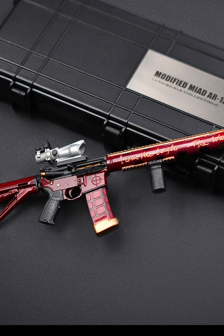 General 1/6 Scale Modified Miad AR-15 [GA-009]