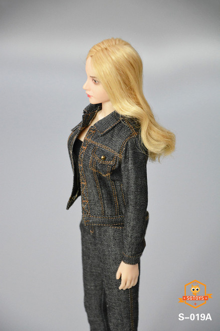 SGTOYS 1:6 Black Ladies Denim Set [SGT-S019A]