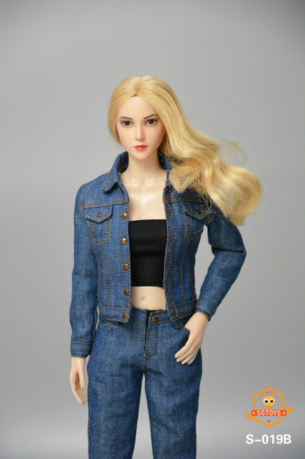 SGTOYS 1:6 Blue Ladies Denim Set [SGT-S019B]
