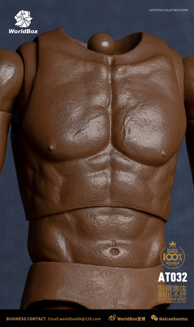 World Box 1/6 African American Universal Figure Body [WB-AT032]