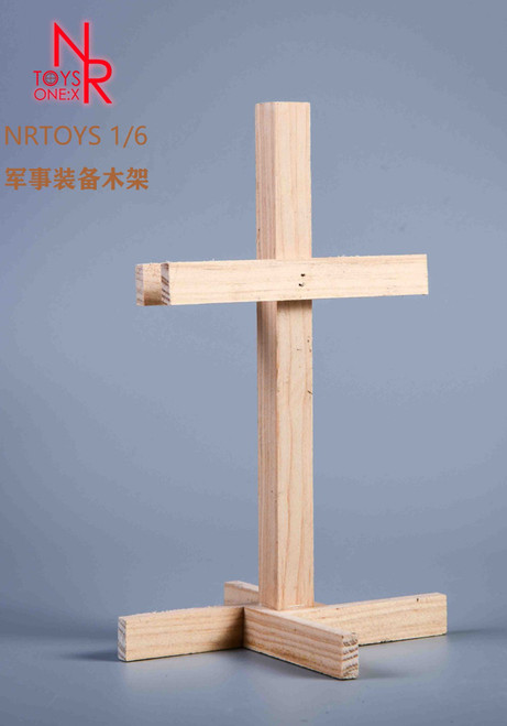 1/6 Scale NR Toys Wood Military Rack [NR-033B]