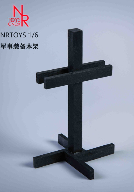 1/6 Scale NR Toys Black Military Rack [NR-033C]