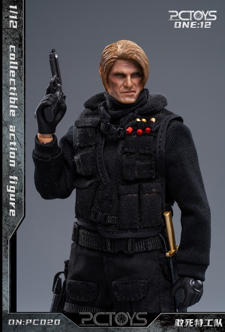 Pocket Cosmos Toys 1/12 Soldiers Of Fortune 1 Action Figure [PC-020]
