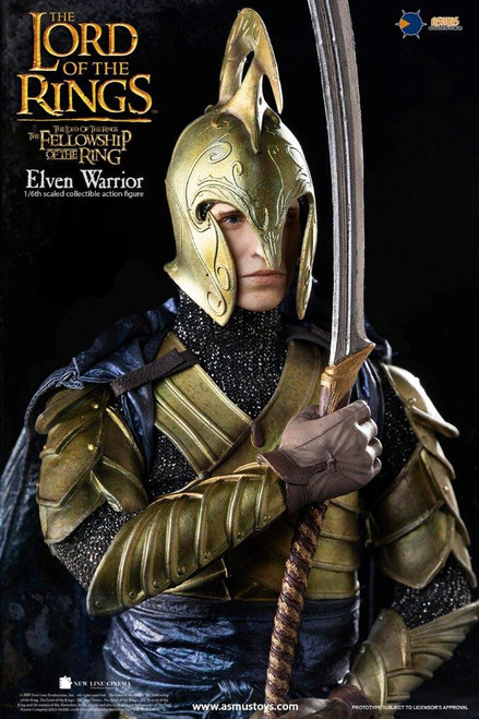Asmus Toys Elven Warrior 1/6 Figure in Lord of the Rings Movie [ASM-LOTR027W]