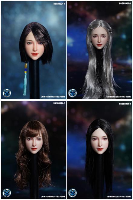 Super Duck 1:6 Asian Headsculpt for Pale Bodies [SUD-SDH024]