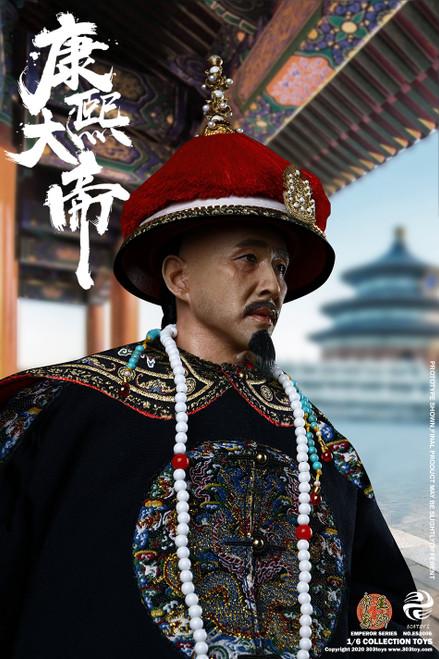 303 Toys 1:6 Kangxi Emperor Brocade & Brass Exclusive Version Figure [303T-ES3006]