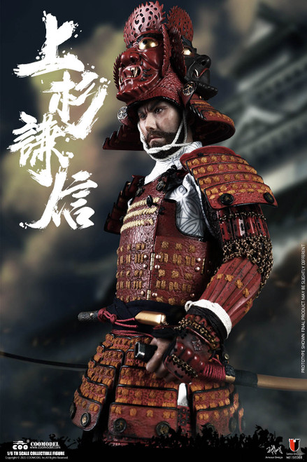 1/6 COO Model UESUGI KENSHIN, THE GOD OF WAR STANDARD VERSION Figure [CM-SE088]]