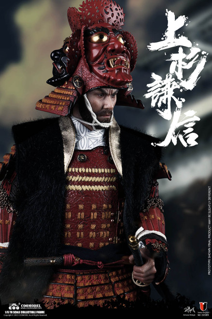 COO Model 1/6 UESUGI KENSHIN, THE GOD OF WAR EXCLUSIVE VERSION [CM-SE089]