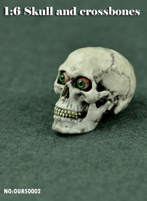 COOMODEL Simulation 1/6 Skull with Eye Movement [CM-OUR50002]
