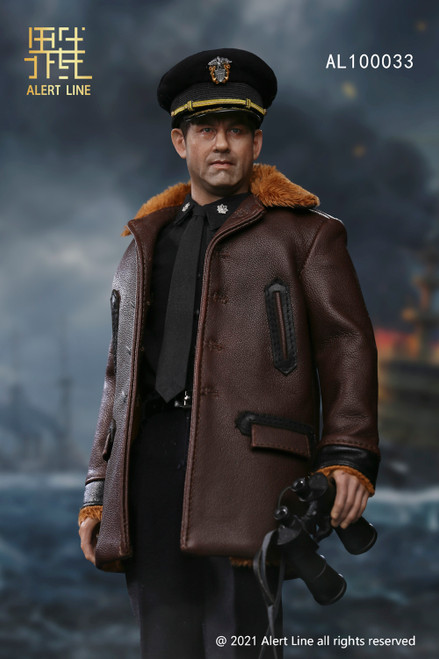 Alert Line 1:6 WWII U.S.NAVY Destroyer Commander Figure [AL-100033]