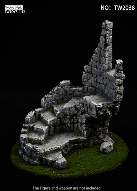 TWTOYS 1:12 Scale Castle Ruin Diorama Base [TW-2038]
