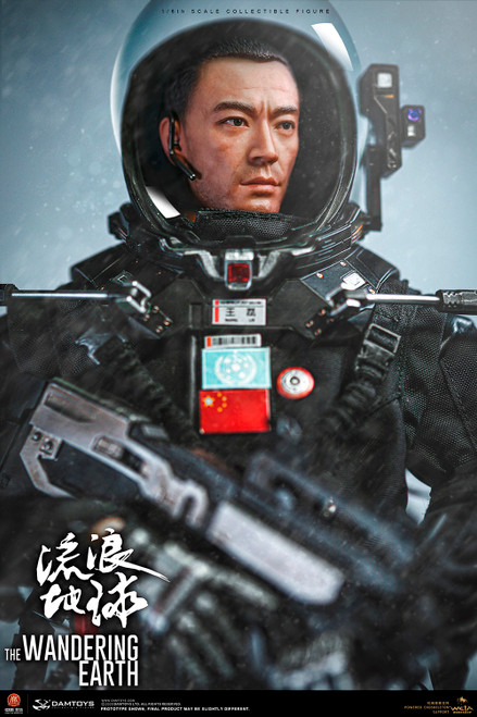 Dam Toys The Wandering Earth CN171-11 Rescue Unit Captain Wang Lei [DMS034]