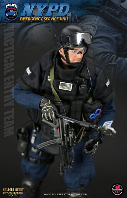 1/6 Soldier Story NYPD ESU Tactical Entry Team Figure [SS-100]