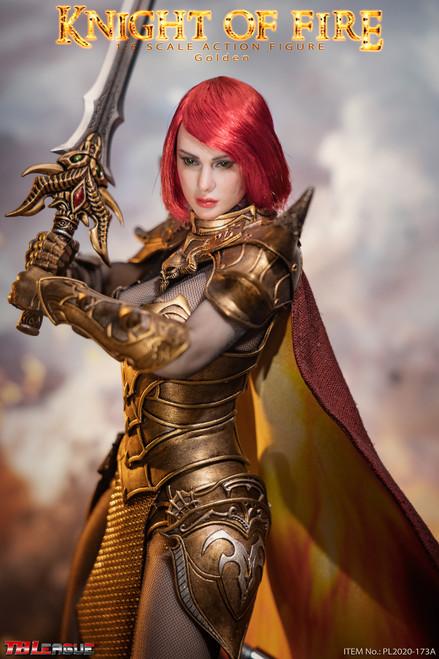 TBLeague Phicen 1/6 Knight of Fire Golden Figure [PL2020-173A]