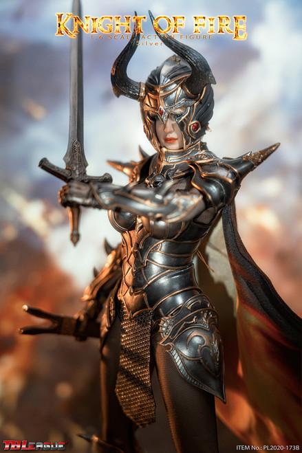 TBLeague Phicen 1/6 Knight of Fire Silver Figure [PL2020-173B]