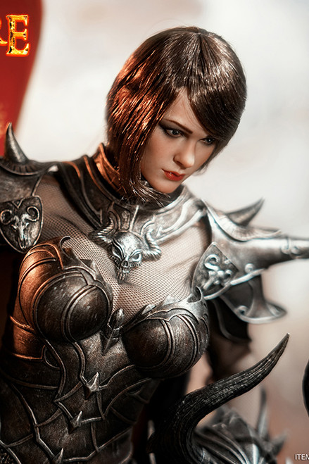 TBLeague Phicen 1/6 Knight of Fire Black Figure [PL2020-173C]