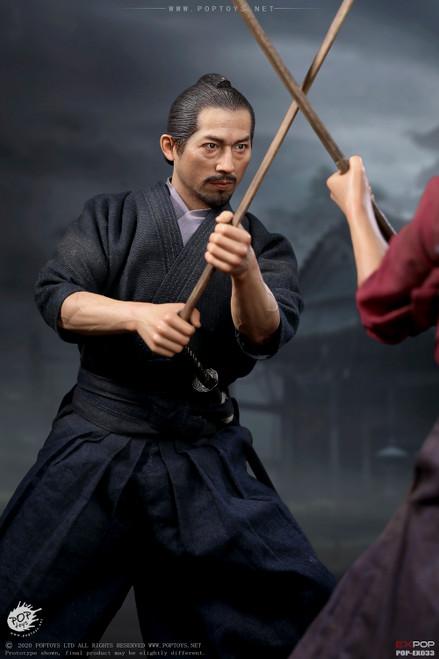 POP Toys Brave Samurai-UJIO Kendo Version Figure [POP-EX033]