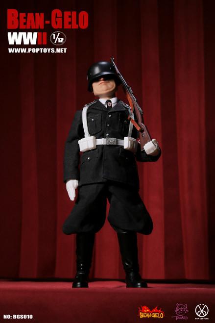 POP Toys 1:12 Black SS Fatso Figure [POP-BGS010]