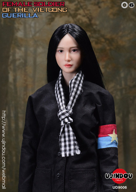UJINDOU 1/6 Female Soldier of the VietCong Guerrilla Figure [UD-9006]