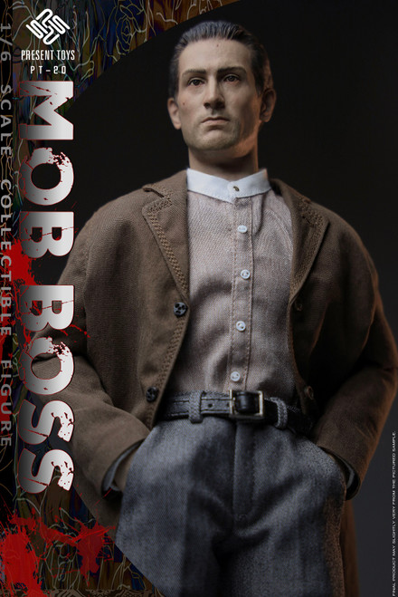 1/6 Present Toys The Second Mob Boss Action Figure [PST-SP20]