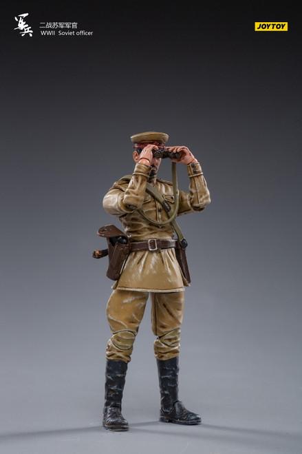 JoyToy 1:18 WWII Soviet officer Figure [JT-0845]