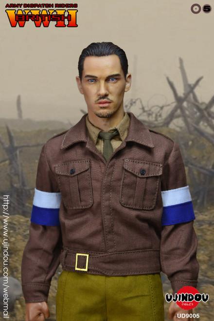 UJINDOU 1/6 WWII British Army Dispatch Riders Figure [UD-9005]
