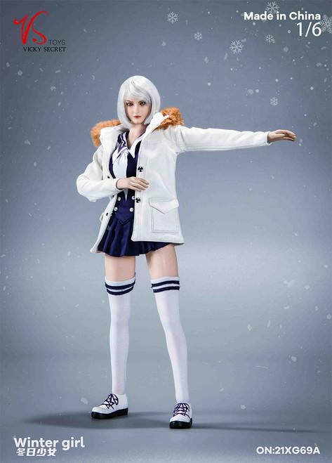VS Toys 1/6  Winter Girl with White Jacket [VST-19XG69A]