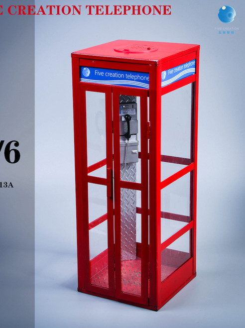 FIve Toys 1:6 Telephone Booth for Action Figure [FIT-2013]