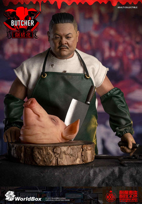 1/6 World Box Downtown Union Butcher Figure [WB-AT033]