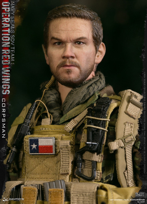 DAM Toys 1/6 Operation Red Wings - NAVY SEALS SDV TEAM 1 Corpsman Figure [DAM78084]