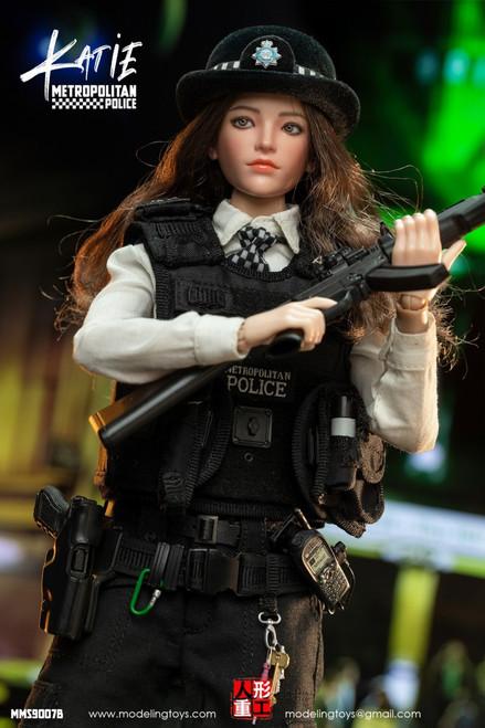 Modeling Toys British Metropolitan Police Service Female Armed Officer Katie [MMS-9007B]
