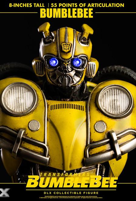 threeA Zero Transformers Bumblebee DLX Bumblebee 8 Inch Tall [3A-3Z0242]