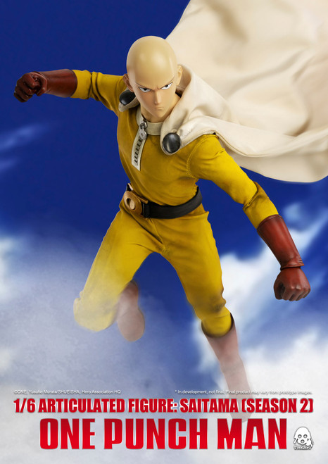 "threezero 1/6 One-Punch Man"", SEASON 2 edition Saitama [3A-3Z0134DV]"