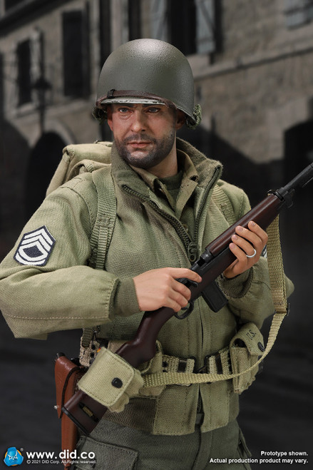 DiD 1/6 WII US 2nd Ranger Battalion Series 5 Sergeant Horvath [DiD-A80150]