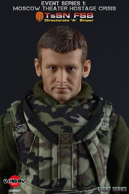UJINDOU 1/6 Moscow Theater Hostage Crisis Figure [UD-9007B]