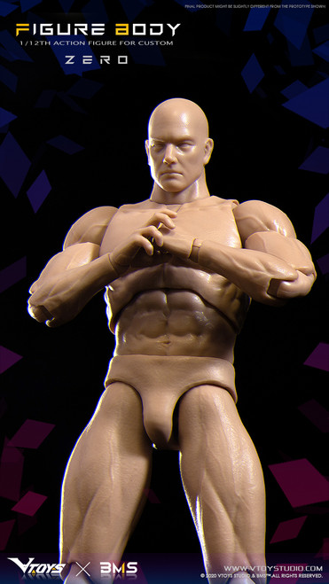 VTOYS X BMS 1:12 Action Figure Body Zero [VSD-003]