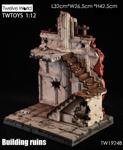 TWTOYS 1:12 Scale Building Ruins B [TWV-1924B]
