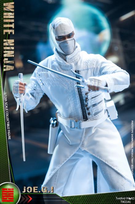 TWTOYS 1:12 Scale White Ninja Samurai [TWV-2141]