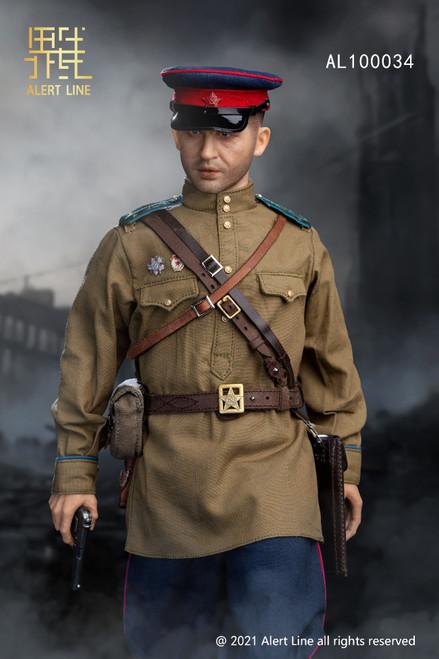 Alert Line 1:6 WWII Soviet NKVD Officer Figure [AL-100034]